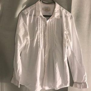 White loft blouse/button down